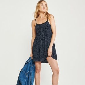 Abercrombie & Fitch Navy Swing Dress